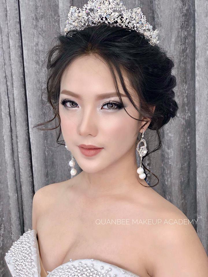 Học trang điểm make up cô dâu và thành quả cao