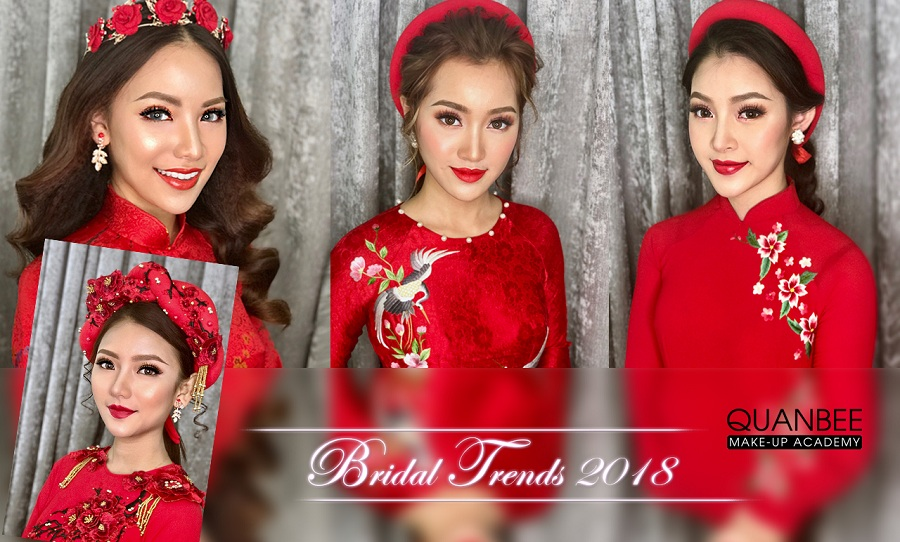 Chuyên gia trang điểm quốc tế Quân Bee chia sẻ về xu hướng trang điểm mùa cưới 2017 - 2018.