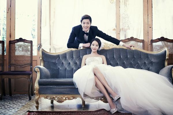 Trang điểm cho cô dâu và chú rể phong cách hàn quốc