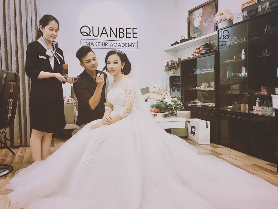 Giá dịch vụ trang điểm cô dâu tại QuanBee